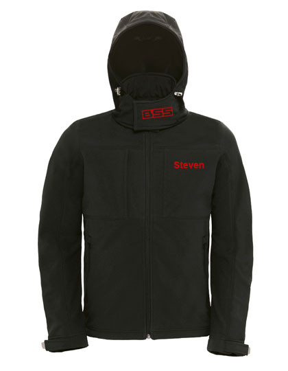 BSS Hooded Softshell Men