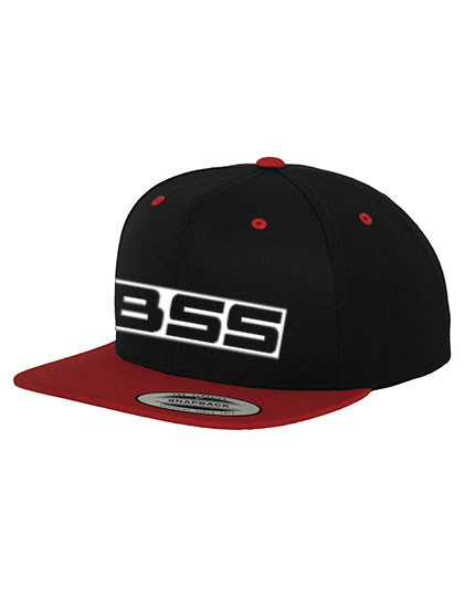 BSS Kappe Snapback BSS-Logo 3D